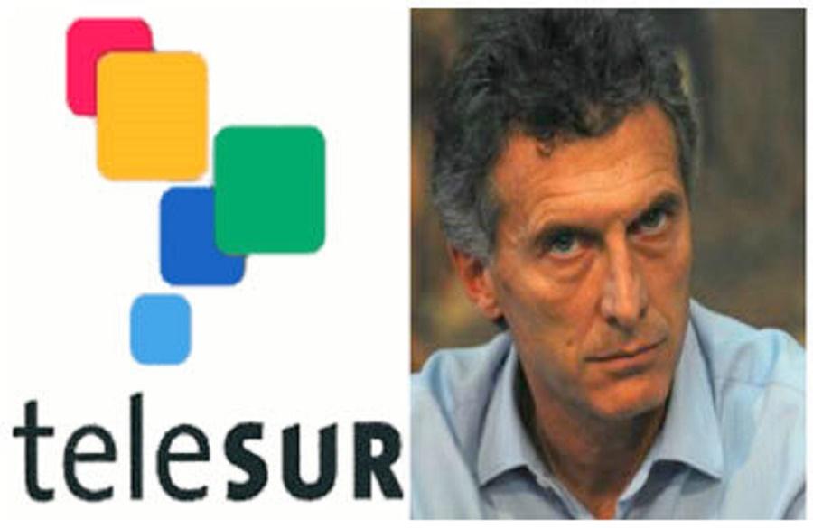 Gobierno de Macri priva al público argentino de ver Telesur