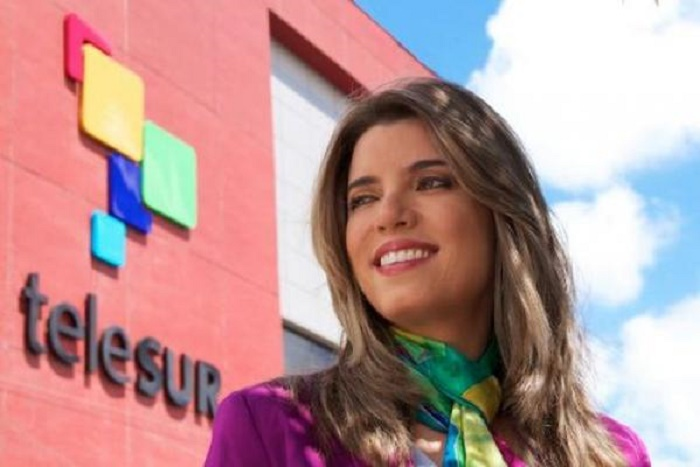 Responde presidenta de Telesur al gobierno argentino