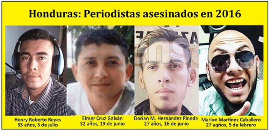 Honduras: Otro periodista asesinado, Henry Roberto Reyes Salazar