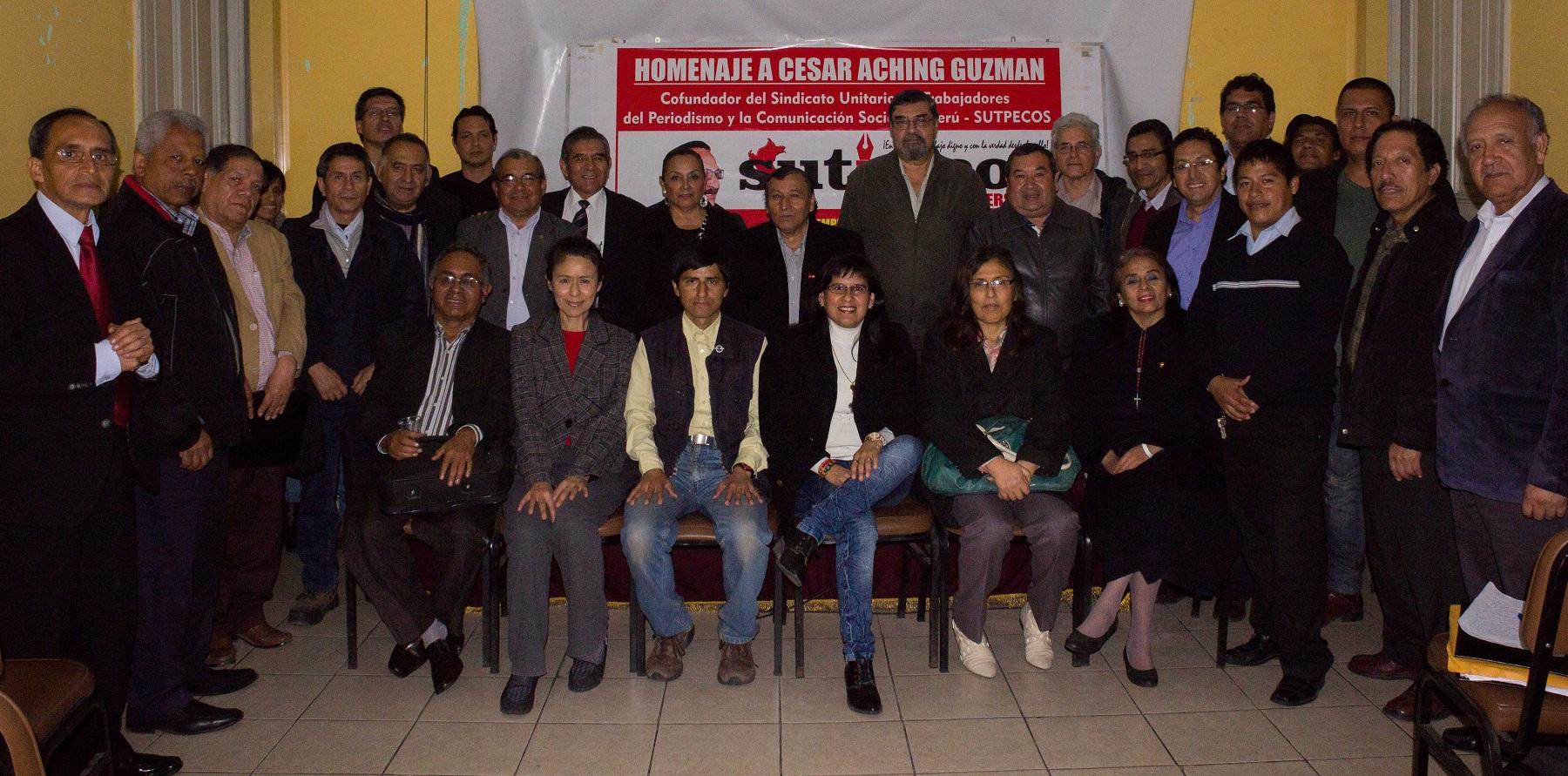 Perú: Sutpecos nace en el ajetreo de la lucha democrática contra el orden establecido
